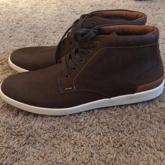40cbca582e5 Steve Madden Brown Leather Chukka Boot Men's 9.5